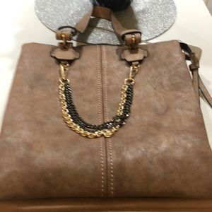 NWT Mad about Style brownish purse